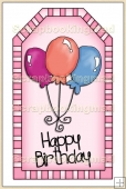 Pink Birthday Tag - REF_T233