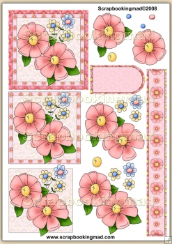 Summer Spray PDF Decoupage Download