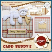 Beary Christmas Over The Top Card Kit