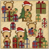 Bearing Gifts ClipArt Graphic Collection