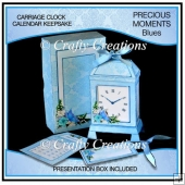 Precious Moments Calendar Keepsake Blues