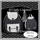 Back Pack Gift Bag - Mono