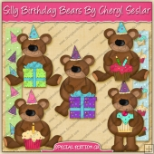 Silly Birthday Bears Collection - SPECIAL EDITION