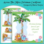 Across The Miles Christmas Cardfront