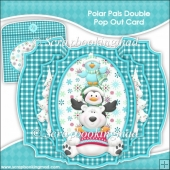 Polar Pals Double Pop Out Card & Envelope