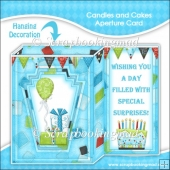 Candles and Cakes Aperture Card & Envelope