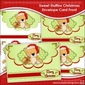 Sweet Stuffins Christmas Envelope Card Front