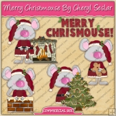 Merry Christmouse Graphic Collection - REF - CS