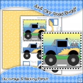 4x4 Off Road Buggy PDF Decoupage Download