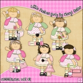 Little Punkins Girly ClipArt Graphic Collection