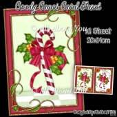 Candy Canes Card front