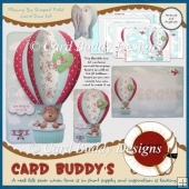 Flying By Shaped Fold Card Duo Kit