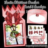 Lantin Christmas Cracker Card & Envelope