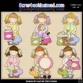Holly Goes Shopping ClipArt Collection