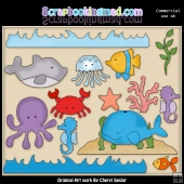 Under The Sea ClipArt Collection