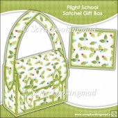 Holly Flight School Satchel Gift Box