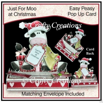 Easy Peasy Pop Up - Just For Moo at Christmas
