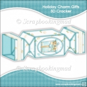 Holiday Charm Gifts 3D Cracker Gift Box