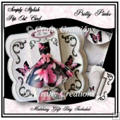 Simply Stylish Pop Out Card - Pretty Pinks