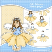 Fairy Princess 1 Decoupage Download