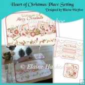 Heart of Christmas Place Setting