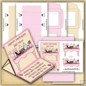 Chic Mothers Day PDF Easel Card Download