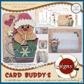 A Ginger Hug in a Mug Shaped Fold Card Kit