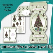 Christmas Tree Cracker Card Kit