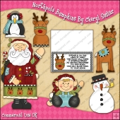 Northpole Bumpkins ClipArt Graphic Collection