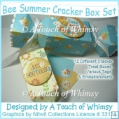 Bee Summer Cracker Box Set