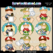 Ruperts Gone Buggy ClipArt Collection