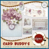 Flower Filled Envelope Shaped Fold Card Kit