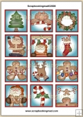 Christmas Thyme Topper Sheet PDF Download