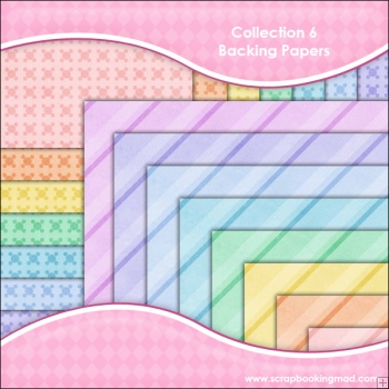 Collection 6 - 16 backing paper Download