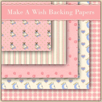 5 Make A Wish Backing Papers Download (C91)