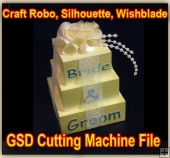 Wedding Favors Template - Craft Robo GSD File