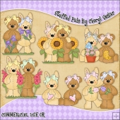 Stuffed Pals ClipArt Graphic Collection