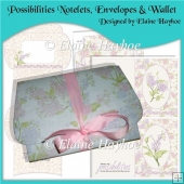 Possibilities Notelets, Envelopes & Wallet