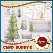 By The Tree 3D Shaped Fold Card Kit