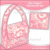 Grin N Bear It Satchel Gift Box