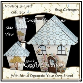 Novelty Shaped Gift Box - Ewe Cottage (2)