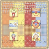 Pretty Little Daisy Download Collection 68 coordinating Items