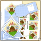 Just Another Day Spring Card & Pyramage PDF Download