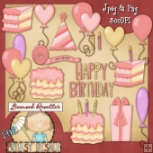 Girls Birthday Clip Art Download