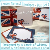 London Notes & Envelopes Box Set