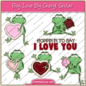 Frog Love Blocks Graphic Collection - REF - CS