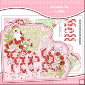 Snowcute Card Front Insert & Decoupage