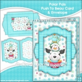 Polar Pals Push To Beau Card & Envelope