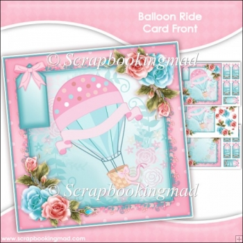 Balloon Ride Card Front