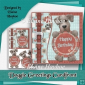 Doggie Greetings Cardfront